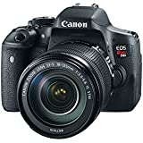 Canon EOS Rebel T6i Digital SLR Camera with EF-S 18-135mm IS STM Lens Kit with EF-S 55-250mm f/4-5.6 IS II (Stabilized) Telephoto Lens and Micro Fiber Cloth