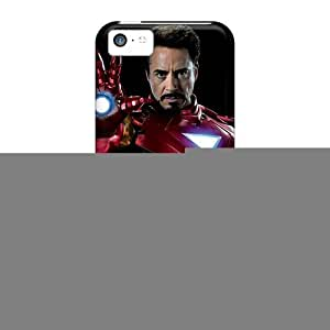 Ifans Fashion Protective The Iron Man Case Cover For Iphone 5c