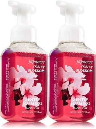 Bath   Body Works  Gentle Foaming Hand Soap  Japanese Cherry Blossom  2 Pack