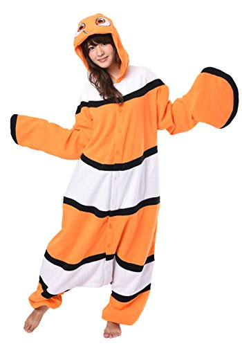 Disney Nemo Onesie Costumes (Medium, Nemo) for $<!--$68.00-->