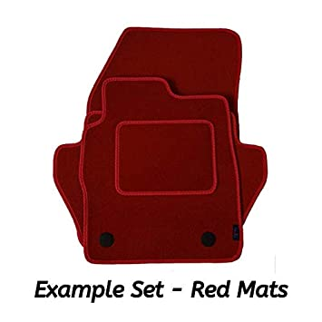 - 3 Eyelet Fixing 2014 - Date Fully Tailored Black Carpet Car Mats for i10 Premier Products