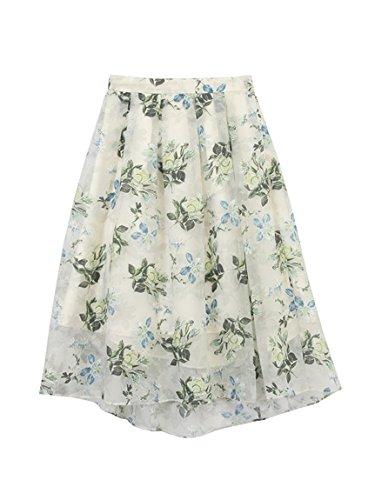 Amazon | 31 Sons de mode(トランテアン ソン ドゥ モード)スラブオパールロングスカート | スカート 通販