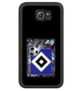 Football Logo Case For Teen Girls Hamburger Sportverein,Hamburger SV Sports Football Image For Samsung Galaxy S6 Case Fashion Protector Printed Pattern Hard Shell Skin Bumper