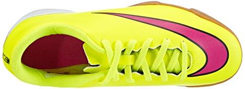Nike Jr. Mercurial Vortex II IC - Zapatillas de fútbol Unisex niños, Amarillo (volt/hyper pink-black 760), 36
