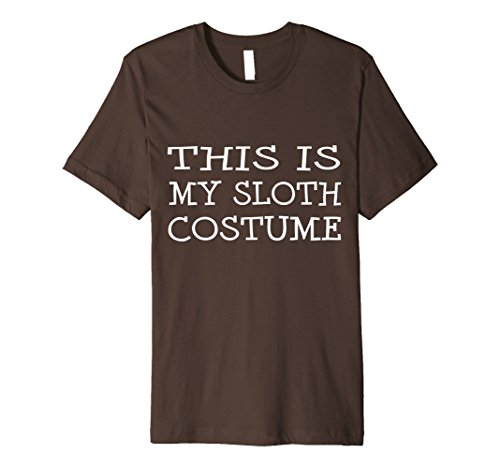 Mens This is My Sloth Costume T-Shirt Last Minute Halloween Party Small (Last Minute Halloween Costumes College)