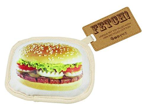 Ore Originals Ore' Pet Hamburger Fetch Dog Toy