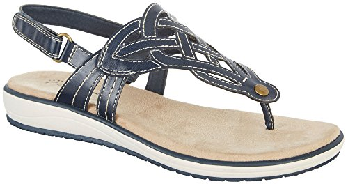 by Ever Sandals Womens Wear Bare Navy Traps 9 Tulsa Blue 5 U7qnqx