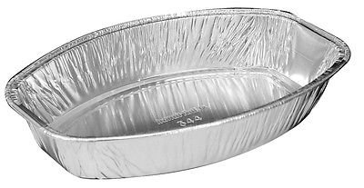 Handi-Foil Mini Oval Casserole Aluminum Pan 12/Pk – Disposable 22 oz Container (pack of 12)