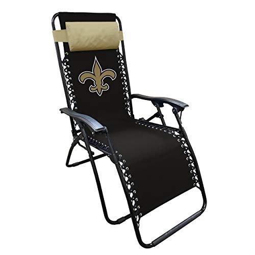 NFL New Orleans Saints Zero Gravity Lounger, Multi, One Size