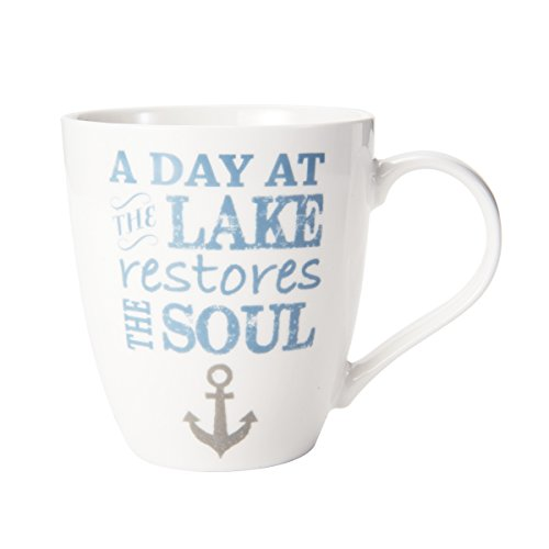 Pfaltzgraff Everyday 5201149 a Day At the Lake Coffee Mug, - Mug Lake