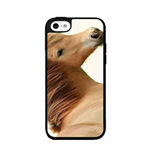 Light Brown Horse - 2-Piece Dual Layer Phone Case Back Cover iPhone 4 4s