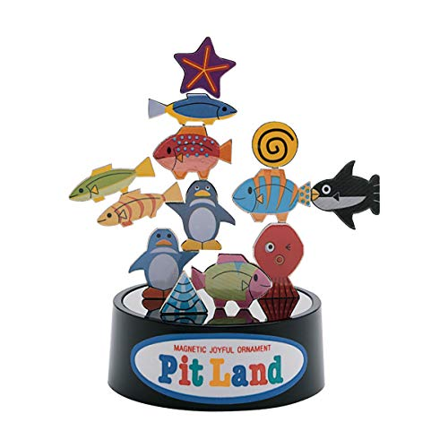 PitLand Aquarium Magnetic Balance 3D Puzzle Toy Imported from Japan from Magnote