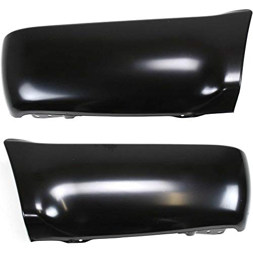 (Bumper End Compatible with Toyota 4Runner 90-95 Rear Left and Right Side Primed)