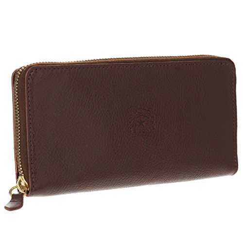 IL BISONTE(イルビゾンテ) 財布 メンズ CLASSIC 2つ折り長財布 MARRONE C0857-P-869 [並行輸入品] B07FXPCHSD