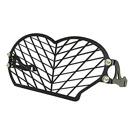 Amazon Com Waase Motorcycle Headlight Head Lamp Light Grille Guard