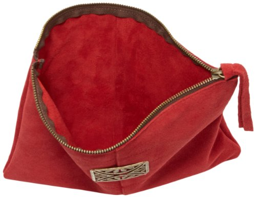 Velours Rouge Sous les Clutch Mini Rectangle Women's Rouge Pavés Sunrise q0Tq6v
