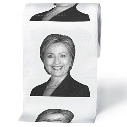 BigMouth Inc Hillary Clinton Toilet Paper