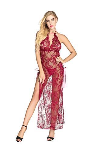 QUEEN MOON Sexy Lingerie Women Sex Long Lace