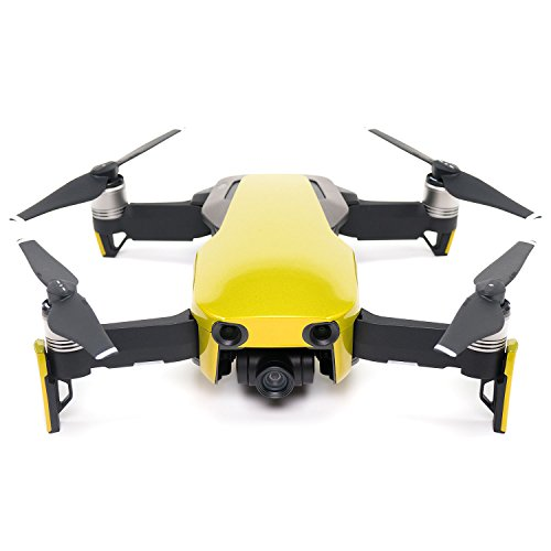 Yellow Air - Wrapgrade Poly Skin for DJI Mavic Air | Unit A: Colored Parts and Rear Trim (LIMONCINO YELLOW)