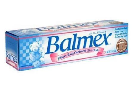 - Balmex Zinc Oxide Diaper Rash Cream 4oz (3 Pack)