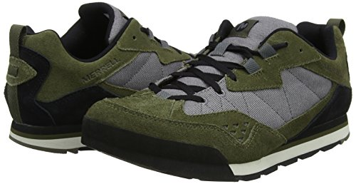 Tura Gry Rock Low Burnt Dusty Olive Denim Sneaker Verde Uomo Merrell EqZgv5UU