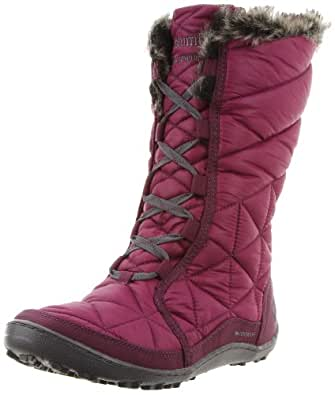 Amazon.com | Columbia Women's Minx Mid Snow Boot, Vino, 5