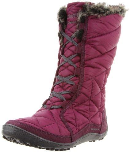 Columbia Kvinna Minx Mitten Snö Boot Vino