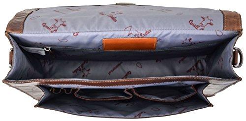 """Gusti Cuir studio """"Paxton"""" serviette en cuir porte-document attaché-case malette serviette sac notebook 15,6"""" Macbook-Pro 13"""" 15"""" sac à bandoulière sac avec anses 2B10-20-2wp"""