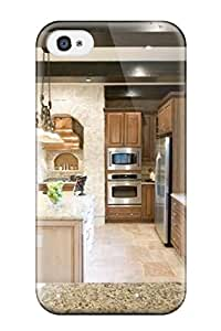 Iphone Case - Tpu Case Protective For Iphone 4/4s- Two Tone Cabinetry Kitchen