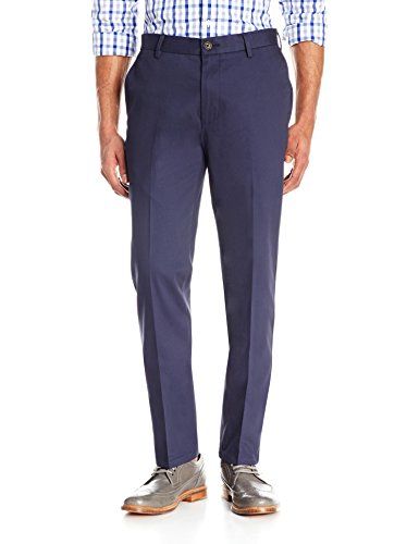 Goodthreads Men's Slim-Fit Wrinkle-Free Dress Chino Pant, Navy, 30W x ()