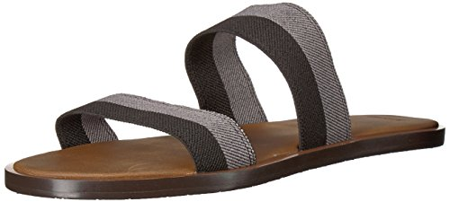 (Sanuk Women's Gora Duo Sandal, Black/Charcoal, 10 M US)
