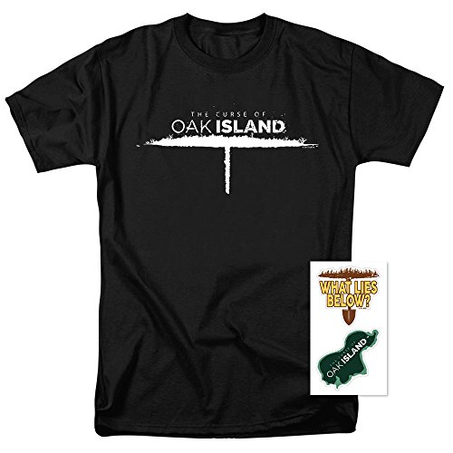 Popfunk The Curse Of Oak Island History Channel Reality Tv T Shirt   Stickers  Large