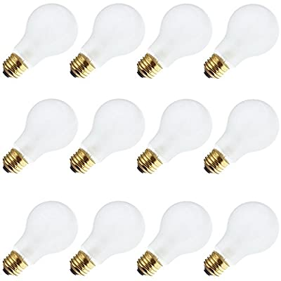 Industrial Performance 50A19 277V, 50 Watt, A19, Medium Screw (E26) Base Light Bulb (12 Bulbs)