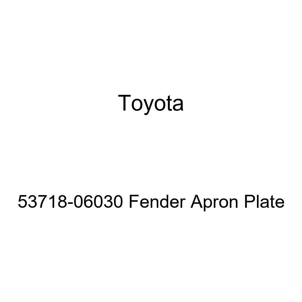 Genuine Toyota 53718-06030 Fender Apron Plate