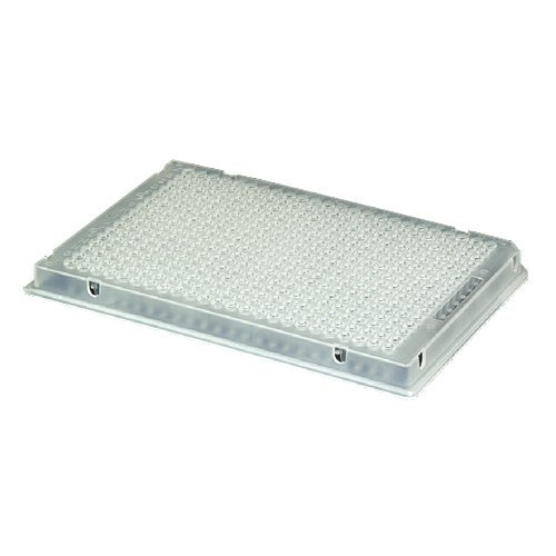 AXYGEN - Axygen 384-well PP PCR Microplate, Compatible w/ A BI,Full Skirt, Clr, NS, CS50 by AXYGEN