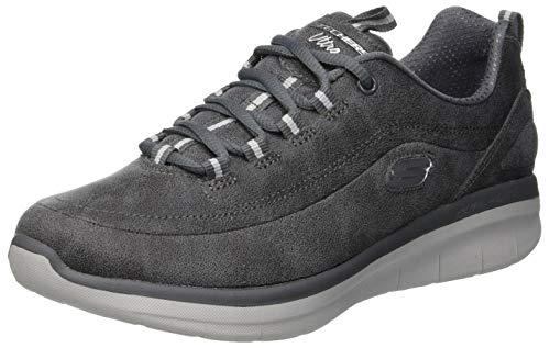 Skechers Womens Synergy 2.0 Trainers, Grey Charcoal