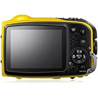Fujifilm XP70 16 MP Digital Camera with 2.7-Inch LCD (Yellow)