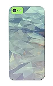 Nice Iphone 5c Case Bumper Tpu Skin Cove Rwith Mosaic Mountain Design For Thanksgiving Day Gift
