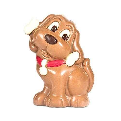 ChocoDog - Hund aus Vollmilchschokolade
