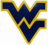 Game Day Outfitters NCAA West Virginia Mountaineers Car Magnet (Large, 2 Pack)