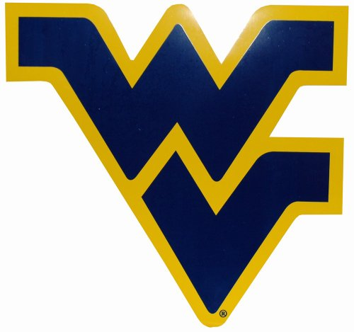 Game Day Outfitters NCAA West Virginia Mountaineers Car Magnet (Large, 2 Pack) by Game Day Outfitters