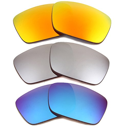Best SEEK Replacement Lenses Oakley FUEL CELL Polarized Yellow Blue - Fuel Sunglasses Cheap Cell Oakley