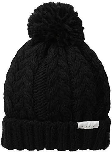 Neff Women's Kaycee Beanie, Black, One Size