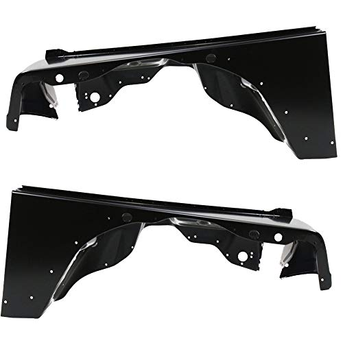 Make Auto Parts Manufacturing New Front Driver Left Side And Passenger Right Side Fender For Jeep Wrangler TJ 1997-2006 - CH1241225-CH1240225