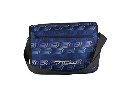Skechers Original 600D Robust Polyester Laptop Messenger Bag azul