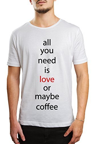 ALL YOU NEED IS LOVE Junge T-Shirt - weiß