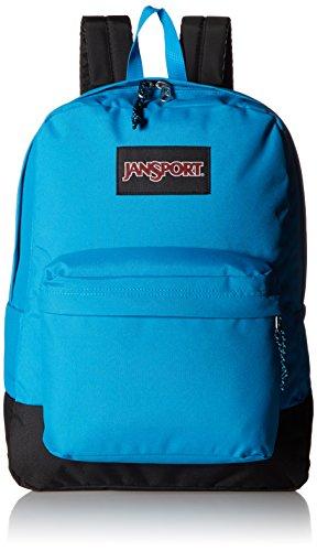 JanSport Unisex Black Label SuperBreak Blue Crest Backpack