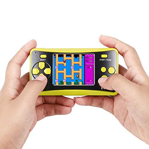 easegmer Handheld Games Console for Kids Pocket Player Built-in 200 Games, 2.5