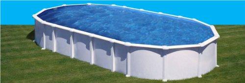 Gre-Pool Blech Haiti 1000x 550x 132cm + Sand Teichklärer