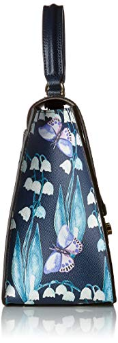 Blu toni Handle Borsa Top fiord Donna Metropolis Furla Multicolore M 0H1OS8